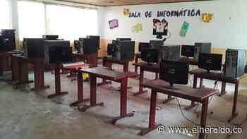 Se metieron en colegio de Urumita y se llevaron hasta las redes eléctricas - EL HERALDO