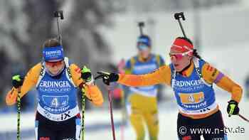 Zweifelnde Herrmann bärenstark: Biathlon-Frauen begeistern beim Heimspiel