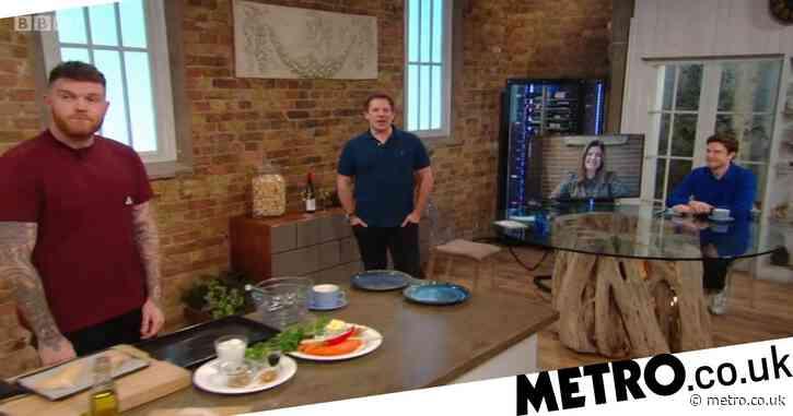 Saturday Kitchen's Matt Tebbutt caught using strong language as show begins