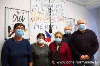 À Petit-Quevilly, le nombre de bénéficiaires du Secours populaire a plus que doublé depuis la crise sanitaire - Paris-Normandie