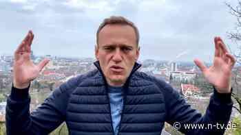 """Nawalny fliegt nach Russland: """"Wird ein schmerzhafter Tag für Putin"""""""