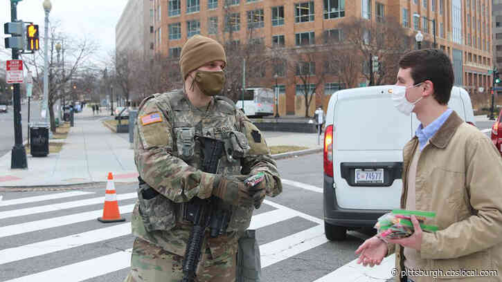 Senator Pat Toomey Uses Senate Candy Desk Supplies For National Guard Care Packages