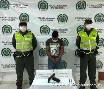 Detienen un hombre con un arma sin papeles en Sitionuevo - El Informador - Santa Marta