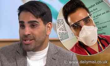 Dr Ranj gives insight into the state of his hospital as he reveals staff are at 'breaking point'