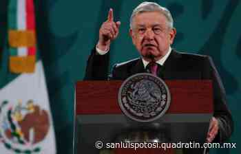 AMLO visitaría SLP la próxima semana - Noticias de San Luis Potosí - Quadratín San Luis