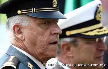 FGR resolvió exonerar a Salvador Cienfuegos - Noticias de San Luis Potosí - Quadratín San Luis