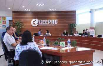 Ceepac definirá mañana alianzas partidarias para Alcaldías - Noticias de San Luis Potosí - Quadratín San Luis