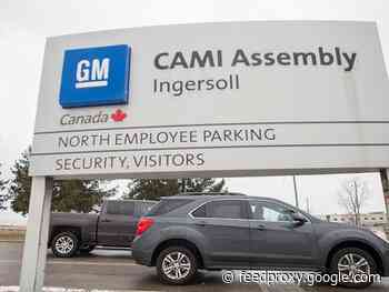 GM agrees to invest $787M in Canada plant, reaches tentative deal with Unifor