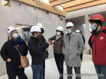 REMOULINS Visite du collège avant l'ouverture en janvier 2022 - Objectif Gard
