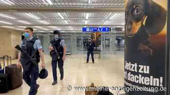 Flughafen Frankfurt: Festnahmen bei Polizeieinsatz – Sperrung in Terminal 1 und Bahnhof wird aufgehoben