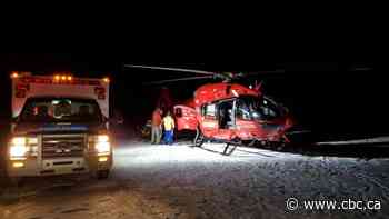 Fallen ice climber in central Alberta successfully rescued