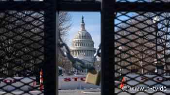 Wenige Tage vor Vereidigung: Bewaffneter in Washington festgenommen