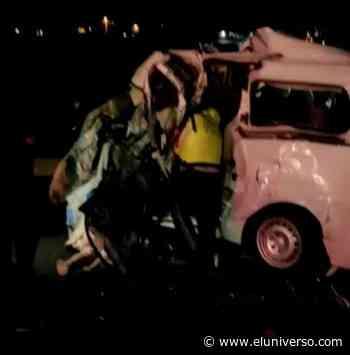 En accidente de tránsito en la vía Latacunga-Quito se registraron seis fallecidos - El Universo