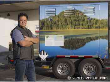 Metro Vancouver company leads charge to supply B.C. film industry with clean energy generators