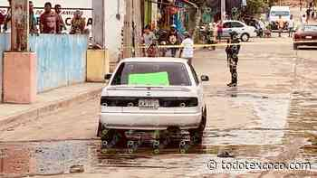 Dejan tres ejecutados en un auto en el poblado de Llano Largo, del puerto - Noticias de Texcoco