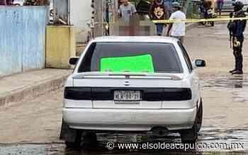 Localizan cabeza humana en vehículo abandonado en Llano Largo - El Sol de Acapulco