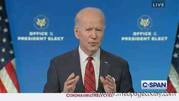 Biden Outlines Vaccine Plan, Rips Republican Lawmakers for Not Masking Up