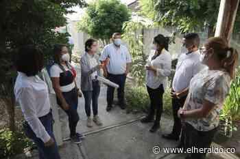 Gobernación comienza adecuación de puesto de salud en Luruaco - EL HERALDO