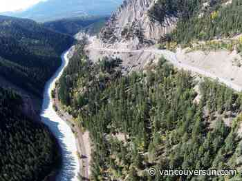 Trans-Canada Highway to close at Kicking Horse Canyon for five weeks this spring