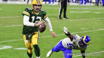 Aaron Rodgers ties NFL record for most consecutive playoff games with multiple passing touchdowns