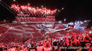 WWE announces WrestleMania will be held in Tampa, Dallas and Los Angeles over next three years