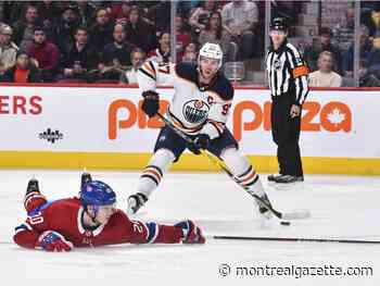 Liveblog: Habs lead 1-0 against Oilers