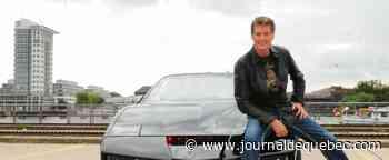 David Hasselhoff met la voiture de «K2000» aux enchères