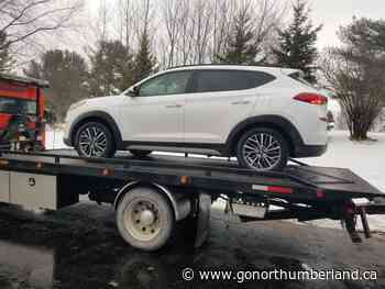 Vehicle stolen from Ajax dealership stopped in Grafton - 93.3 myFM