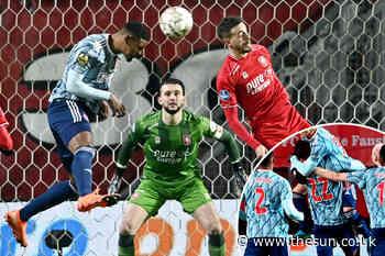 West Ham flop Sebastien Haller scores just SEVEN MINUTES into full Ajax debut after transfer exit - The Sun