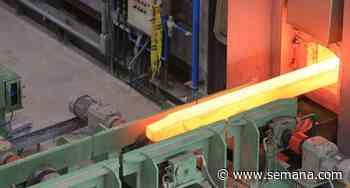 En Palmar de Varela ya se produjo la primera barra de acero - Semana.com