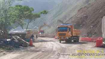 De nuevo dan paso por la vía a Urabá entre Uramita y Dabeiba - El Colombiano