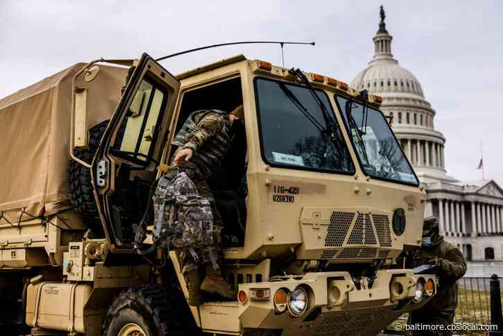 National Guard Troops Pour Into DC As States Answer Call To Safeguard City Ahead Of Inauguration, Possible Protests