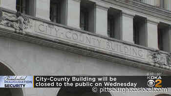Pittsburgh City-County Building To Close To The Public On Inauguration Day