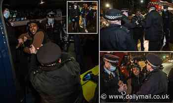 Five people arrested for breaching Covid restrictions as protestors gather Parliament Square