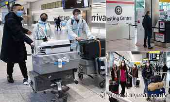 Hotel quarantines proposed for all UK arrivals to check travellers are properly isolating