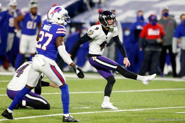 Ravens' Justin Tucker Misses 2 Field Goals In Same Game; First Time Since December 2018