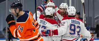 Le Canadien de Montréal remporte 5-1 contre les Oilers d'Edmonton