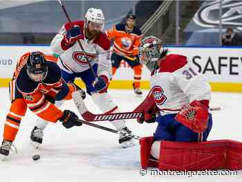 Canadiens score a gusher of goals to beat Oilers