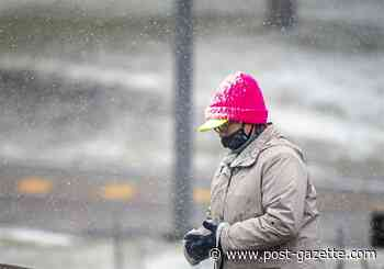 Morning snow squalls cause slick roads, blanket Pittsburgh area