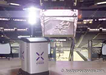 San Antonio Spurs Deploy Xenex Germ-Zapping Robots; First NBA Team to Use LightStrike Robots to Disinfect Arena