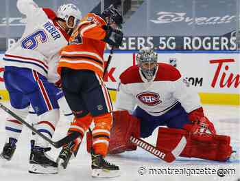 In the Habs' Room: Price gets credit for holding off high-octane Oilers