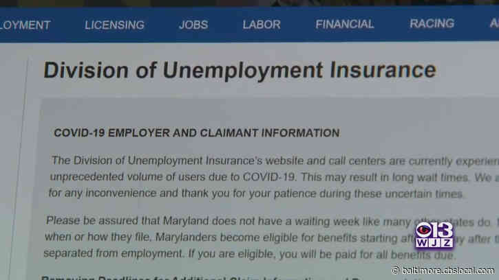 Maryland Officials Hope Training Programs, Employer Incentives Help Unemployed Find Jobs
