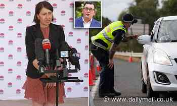 Gladys Berejiklian blasts Daniel Andrews for not opening Victorian border as NSW records new cases