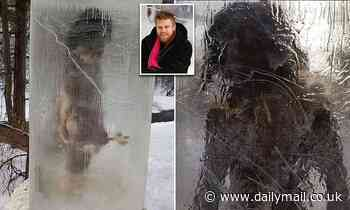 Caveman encased in ice appeared in a Minneapolis park with others still to be found