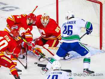 Flames 3, Canucks 0: Markstrom solid, but for the wrong team