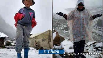 Increíbles imágenes de las nevadas en el Parque Natural El Cocuy - El Tiempo