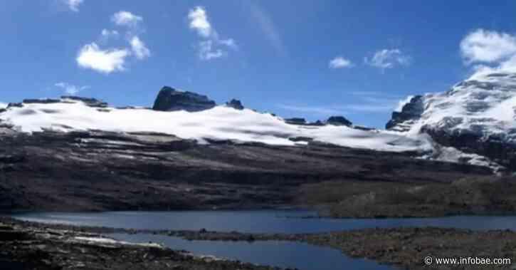 Volvió a nevar en la sierra El Cocuy - infobae