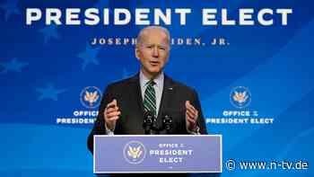 Kurswechsel nach Trump-Ära: Biden will mit Zehn-Tages-Plan einsteigen