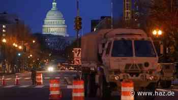 Bei US-Kapitol: Verdächtiger mit geladener Waffe festgenommen