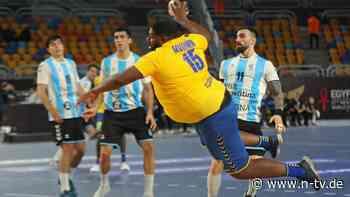 Handballer Mvumbi ist kolossal: Die größte WM-Geschichte ganz ohne Corona